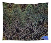 Beach Bubbles Abstract Tapestry