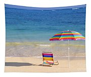 Beach Chair Tapestry