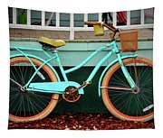Beach Cruiser Bike Tapestry