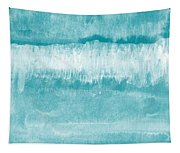 Beach Day Blue- Art By Linda Woods Tapestry