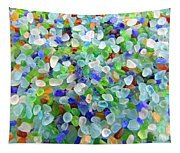 Beach Glass Tapestry