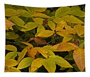 Beach Leaves Tapestry