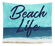 Beach Life- Art By Linda Woods Tapestry