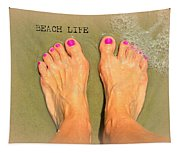 Beach Life Tapestry
