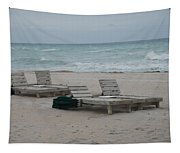 Beach Loungers Tapestry