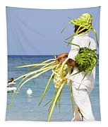 Beach Man Tapestry
