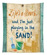 Beach Notes-jp3762 Tapestry
