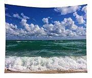 Beach Paradise Tapestry