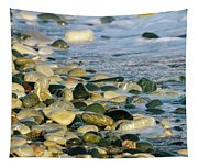 Beach Pebbles Tapestry