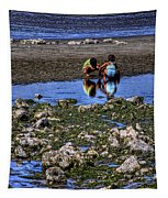 Beach Play Tapestry