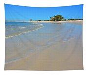 Beach Scene 3 Tapestry
