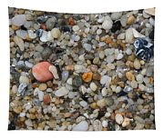 Beach Stones Tapestry