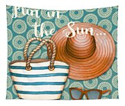 Beach Time-jp3618 Tapestry