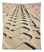 Beach Tracks Tapestry