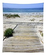 Beach Walk Tapestry