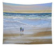 Beach Walk Tapestry