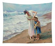 Beachside Diversions Tapestry