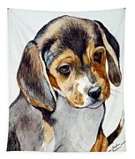 Beagle Puppy Tapestry