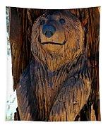 Bear Art Tapestry