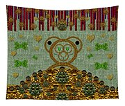 Bear In The Blueberry Wood Tapestry