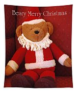 Beary Merry Christmas  Tapestry