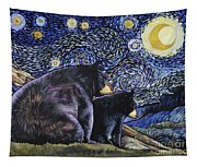 Beary Starry Nights Too Tapestry