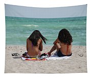 Beauties On The Beach Tapestry