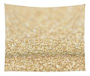 Beautiful Champagne Gold Glitter Sparkles Tapestry