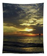 Beautiful Clearwater Sunset Tapestry