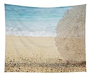 Beautiful Coral Element 1 Tapestry