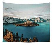 Beautiful Crater Lake Tapestry