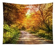 Beautiful Fall Day Tapestry