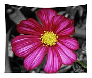 Beautiful Fuchsia Flower Tapestry