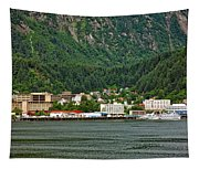 Beautiful Juneau Alaska Tapestry
