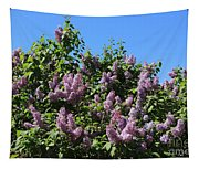Beautiful Lilacs Day Tapestry