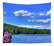 Beautiful Luby Bay On Priest Lake Tapestry