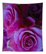 Beautiful Purple Roses 2 Tapestry