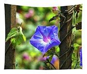 Beautiful Railroad Vine Flower Tapestry