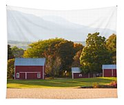 Beautiful Red Barn 3 Tapestry