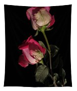 Beautiful Two Tone Roses Tapestry