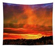 Beautiful Utah Sunset Tapestry