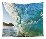 Beautiful Wave And Sunlight Tapestry