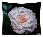 Beautiful White Camellia Tapestry
