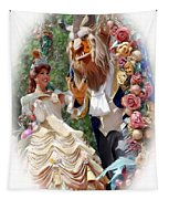 Beauty And The Beast II Tapestry