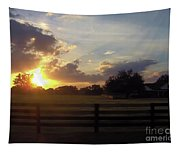 Beauty At Sunset Tapestry