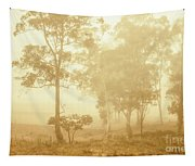 Beauty In A Forest Fog Tapestry
