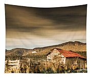 Beauty In Rural Dilapidation Tapestry