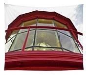 Beauty In The Lighthouse Lens Tapestry