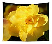 Beauty In Yellow Tapestry