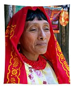 Beauty Of A Woman Tapestry
